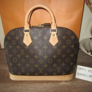 Monogram Canvas Alma PM Bag